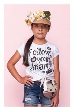 Blusa Pituchinhus Cotton Follow Nozinho 21683