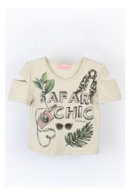 Blusa Pituchinhus Safari Chic 21688