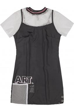 Vestido I Am Authoria Cropped Tela R2378