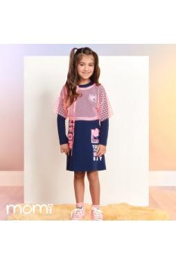 Vestido Momi Blusa Telinha H2913