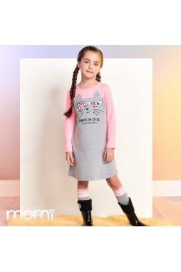 Vestido Momi Gatinha F9815