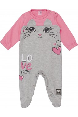 Macacão Momi Baby Cat Orelhinhas C1049