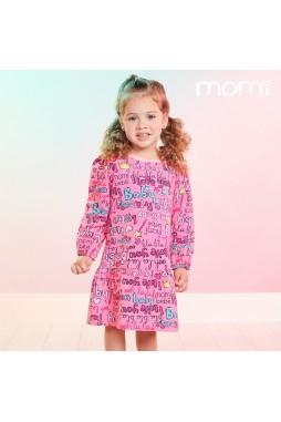 Vestido Momi Recorte Godê J3741