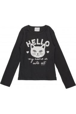 Blusa Momi Hello Cat F8394