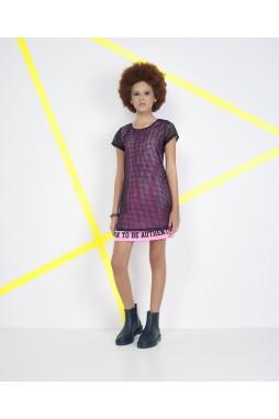 Vestido Pinkx Tela com Preto P211370