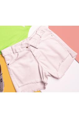 Short PinkX Sarja Branco P202367